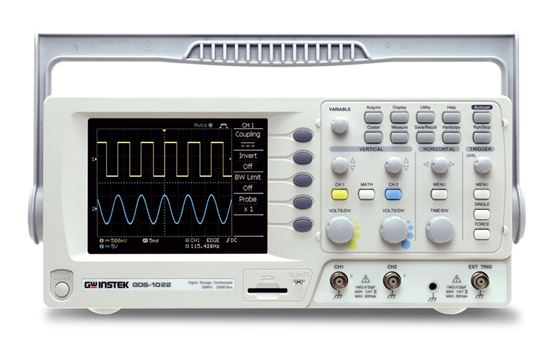 Picture of Instek GDS-1022 25 MHz 2 Channel Oscilloscope with USB