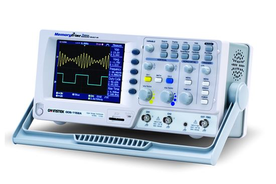 Picture of Instek GDS-1062A 60 MHz 2 Channel Digital Storage Oscilloscope