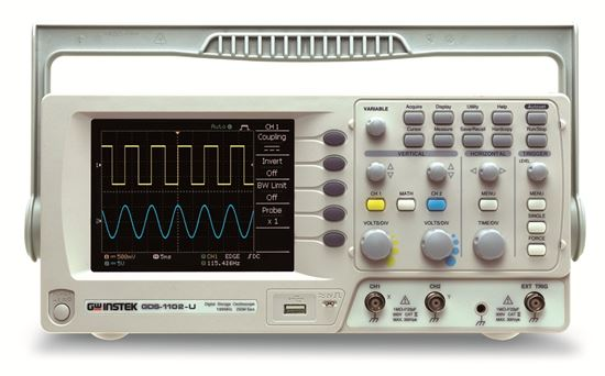 Picture of Instek GDS-1102-U 100 MHz 2 Channel Oscilloscope with USB