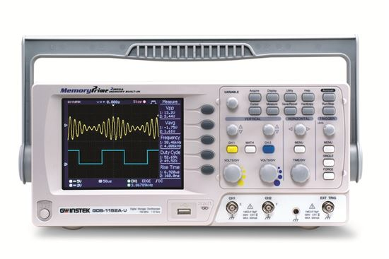 Picture of Instek GDS-1102A-U 100 MHz 2 Channel Oscilloscope with USB