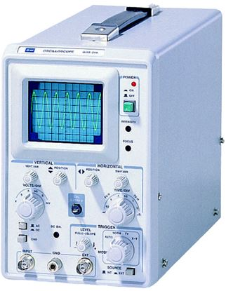 Picture of Instek GOS-310 10 MHz 1 Channel Low Cost Oscilloscope