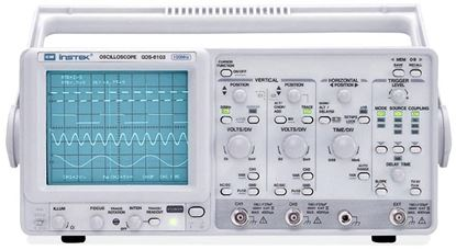 Picture of Instek GOS-6103 100 MHz Dual Channel Analog Oscilloscope