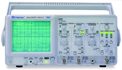 Picture of Instek GOS-6112 100 MHz Dual Channel Analog Oscilloscope