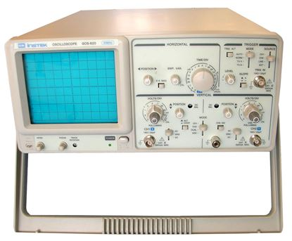 Picture of Instek GOS-620 20 MHz Dual Channel Analog Oscilloscope