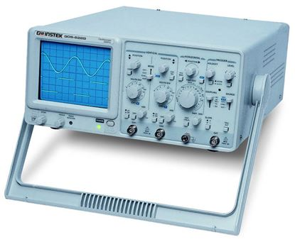 Picture of Instek GOS-620FC 20 MHz Dual Channel Analog Oscilloscope