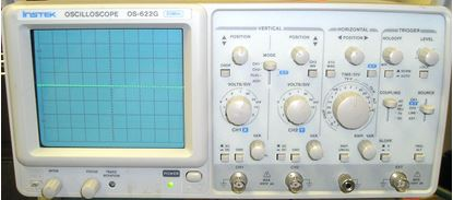 Picture of Instek GOS-622G 20 Mhz 2 Channel Oscilloscope