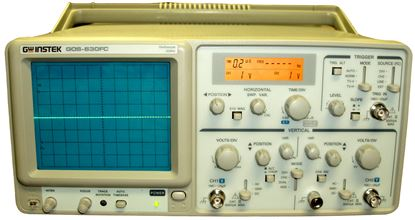 Picture of Instek GOS-630FC 30 MHz 2 Channel Oscilloscope