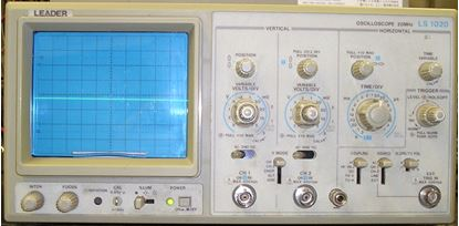 Picture of Leader LS-1020 20 MHz 2 Channel Oscilloscope