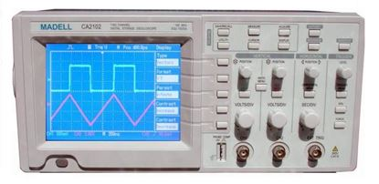Picture of Madell CA2102 100 MHz 2 Channel Oscilloscope