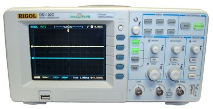 Picture of Rigol DS1102C 100 MHz Dual Channel Oscilloscope with USB