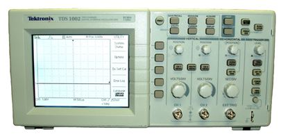 Picture of Tektronix 1002 60 MHz 2 Channel Oscilloscope