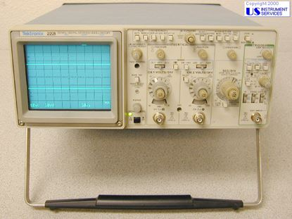 Picture of Tektronix 2221 ,60 MHz DigStorageScope