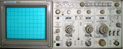 Picture of Tektronix 2230 Oscilliscope 100 MHz 2 Channel Oscilloscope