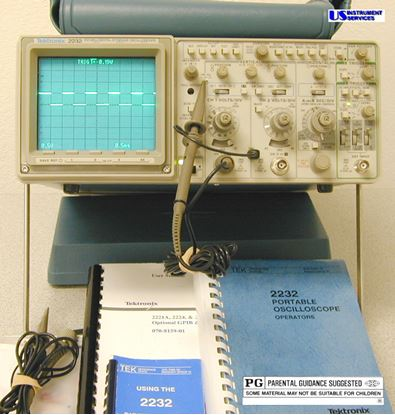 Picture of Tektronix 2232 100 MHz 2 Channel Digital Storage Scope