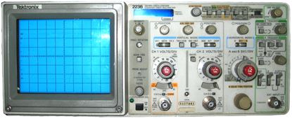 Picture of Tektronix 2236 100 MHz 2 Channel Oscilloscope