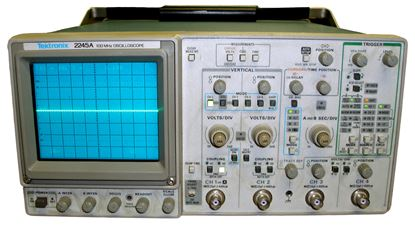Picture of Tektronix 2245A 100 MHz 4 Channel Oscilloscope