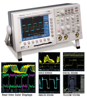 Picture of Tektronix TDS3014B 100 MHz 4 Channel Oscilloscope
