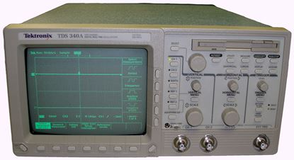 Picture of Tektronix TDS340A 100 MHz 2 Channel Oscilloscope