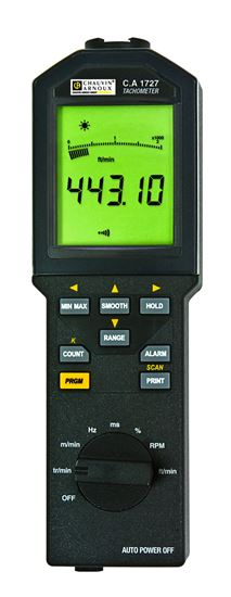 Picture of AEMC CA1727 Infrared Tachometer with USB Interface