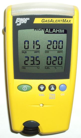 Picture of BW Technologies GasAlertMax Portable Multi-Gas Detector