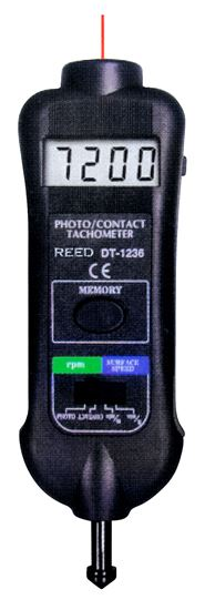 Picture of Reed DT-1236L Digital Tachometer New
