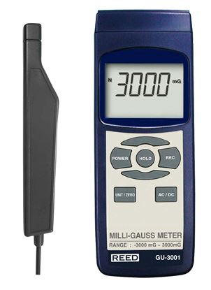 Picture of Reed GU-3001 Hand Held Gauss Meter New