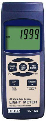 Picture of Reed SD-1128 Light Meter with Datalogging New