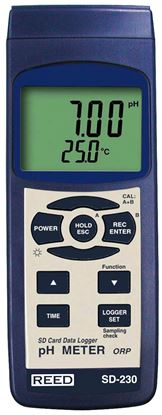 Picture of Reed SD-230 pH/orp Meter with Datalogging New