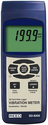 Picture of Reed SD-8205 Vibration Meter with Datalogging New