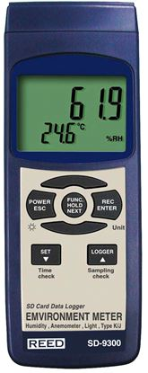 Picture of Reed SD-9300 Environment Meter with Datalogging New