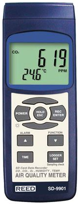 Picture of Reed SD-9901 Indoor Air Quality Meter with Datalogging New