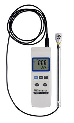 Picture of Reed YK-80AS Small Probe Air Velocity Meter New