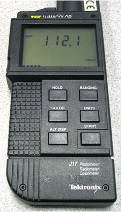 Picture of Tektronix J17 LumaColor Photometer System