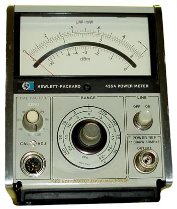 Picture of Agilent/HP 435A Analog Power Meter