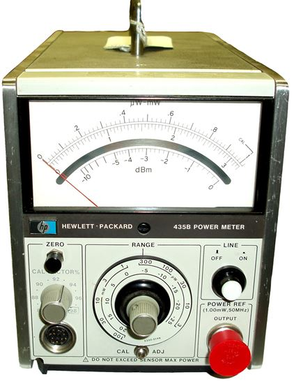 Picture of Agilent/HP 435B Analog Power Meter