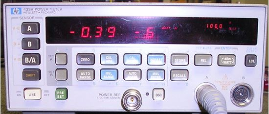 Picture of Agilent/HP 438A 2 Channel Power Meter