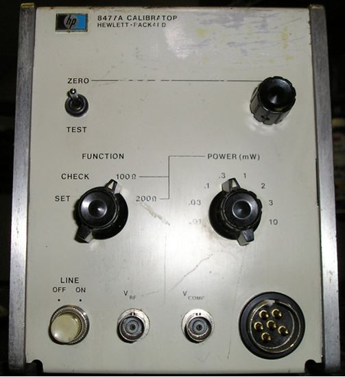 Picture of Agilent/HP 8477A Power Meter Calibrator