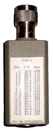 Picture of Agilent/HP 8481A 10 MHz to 18 GHz Power Sensor