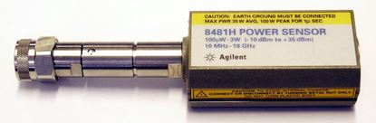 Picture of Agilent/HP 8481H 3 Watt 18 GHz Power Sensor