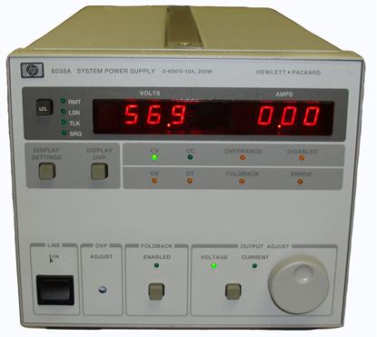 Picture of Agilent/HP 6038A 60 Volt 10 Amp Power Supply