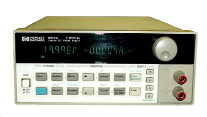 Picture of Agilent/HP 6612C 20 Volt 2 Amp Power Supply
