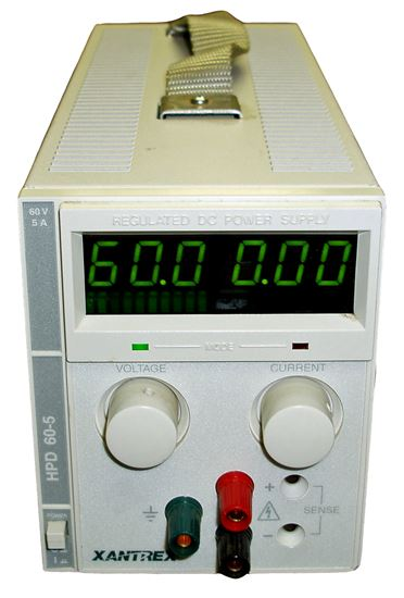 Picture of Xantrex HPD60-5 60 Volt 5 Amps Power Supply