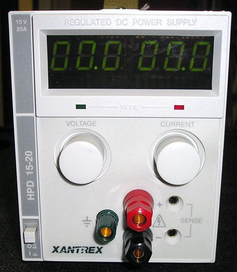 Picture of Xantrex HPD15-20 15 Volt 20 Amps Power Supply