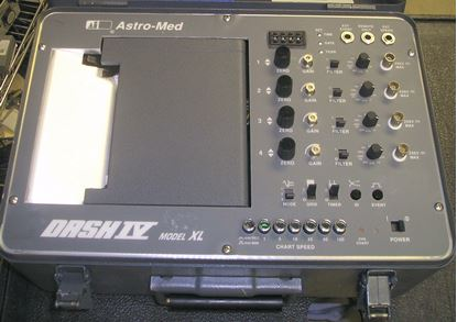 Picture of Astromed Dash-IV XL 4 Channel Recorder