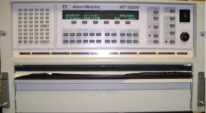 Picture of Astromed MT95000 8 Channel Chart Recorder