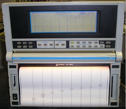 Picture of Gould/LDS TA11 16 Channel Chart Recorder