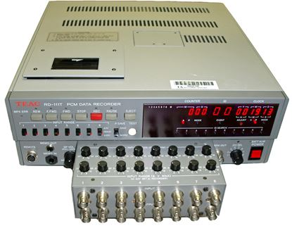 Picture of TEAC RD-111T 8 Channel DAT Recorder
