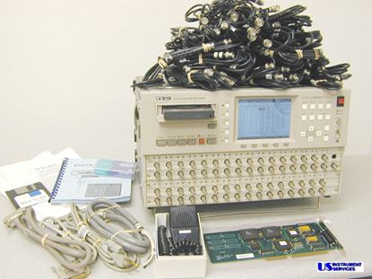 Picture of TEAC RX-832 ,32 Channel 8mm Data Recorder , with a mountain of accessories