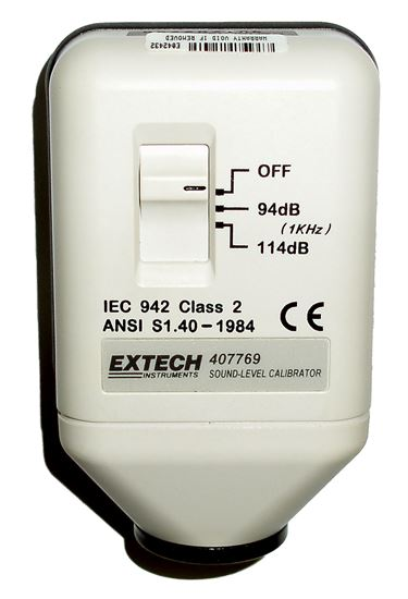 Picture of Extech 407769 Sound Level Calibrator