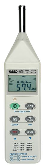 Picture of Reed C-322 Datalogging Sound Level Meter with Software New